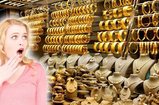 بشرى ومفاجأت الذهب السعودى داخل محال الصاغة والمقبلين على الشراء والبيع اليوم