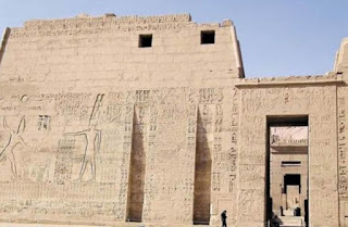 Temples of Thebes to honor the great god Amun