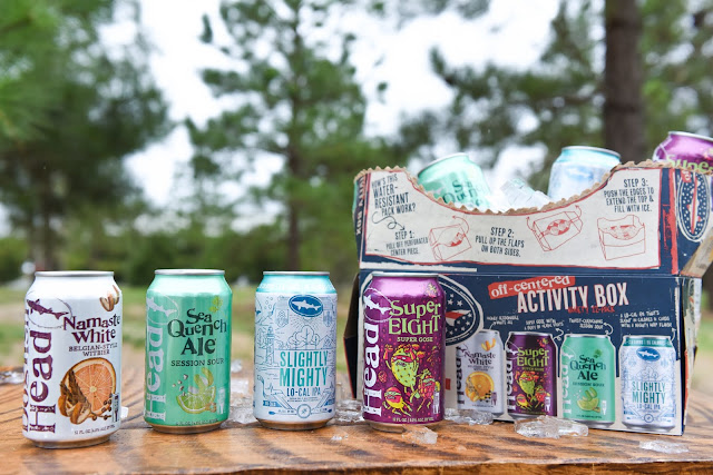 Dogfish Head Sprints into the Summer Season with its Off-Centered Activity Box Variety Pack