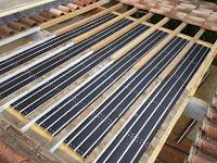 Vue des 6m² de tuile solaire  caleosoleil par Absolut Toiture