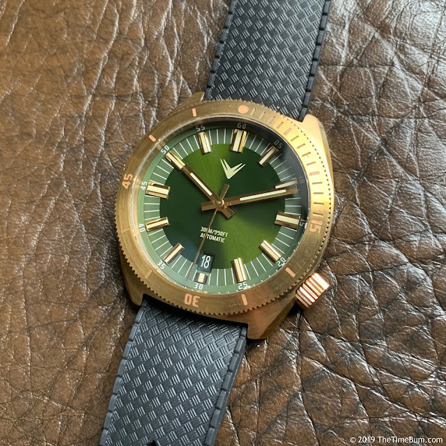 Ventus Northstar Forest Green Brass