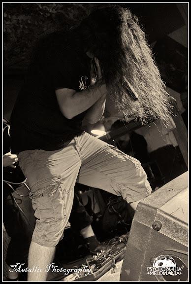 Jérôme Bernard @Pestifer, Metal Corporation Fest 2015 - METAL, MCP Apache, Fontaine-L'Évêque, Belgique 29/08/2015