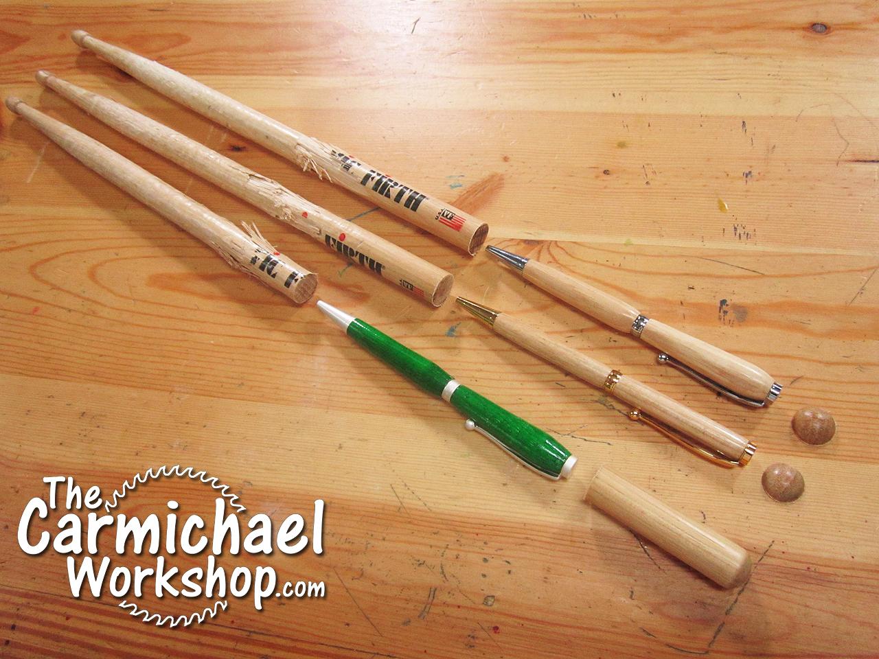 Homemade Drumstick Lathe 75
