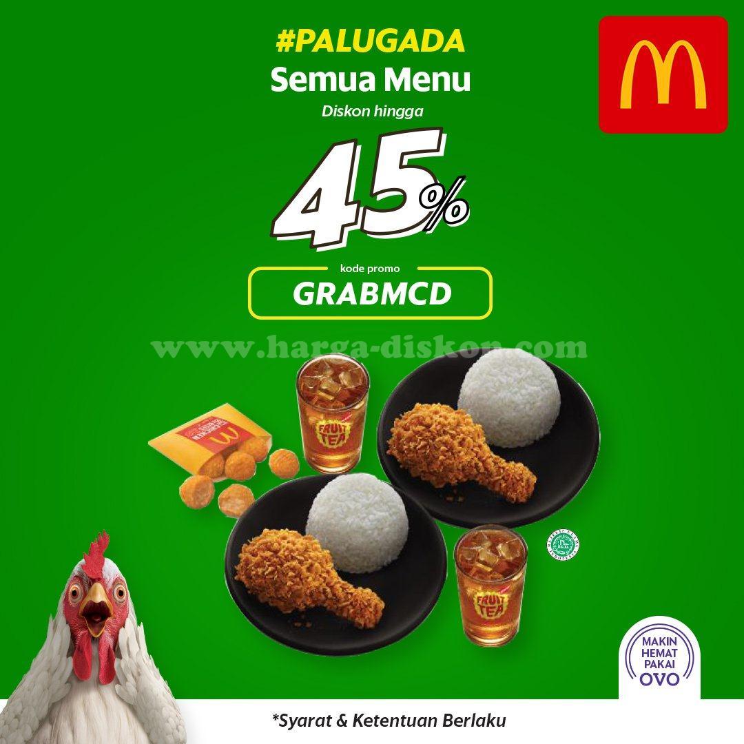 Promo Mcdonalds Terbaru Diskon Hingga 45 Dengan Grabfood Harga Diskon