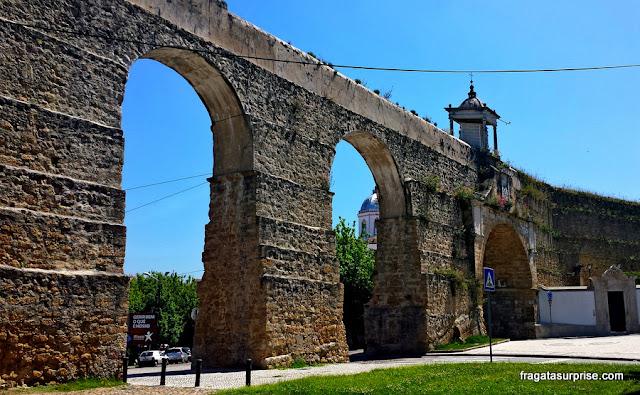 Arcos do Jardim ou Aqueduto de São Sebastião, Coimbra, Portugal