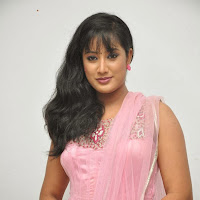 Cute Sravani photos in salwar kameez at jananam movie audio launch
