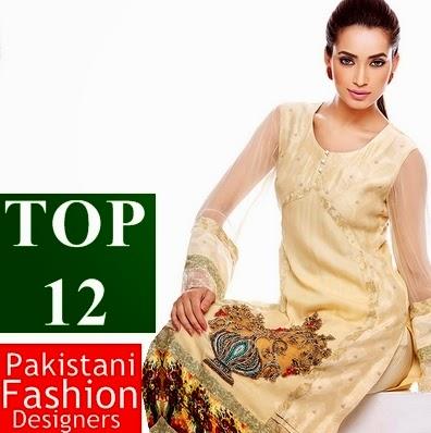 Top 12 Pakistani Fashion Designer