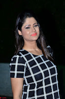 Shilpa Chakravarthy in Dark blue short tight dress At Srivalli Movie Pre Release Event ~  Exclusive Celebrities Galleries 077.JPG