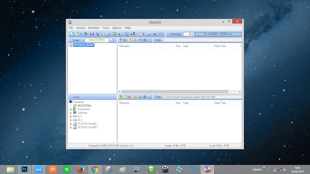 aplikasi untuk membuat bootable windows dengan mudah, membakar DVD VCD
