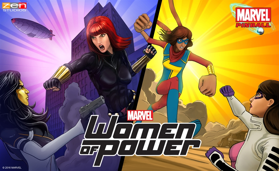 Pinball FX2 Marvel's Women of Power Free Download Poster