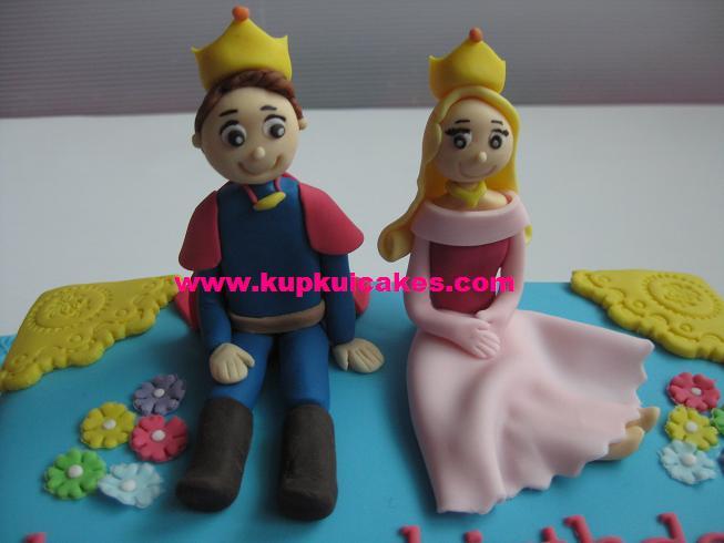 Kupkui Cakes Prince And Princess Themed Cake