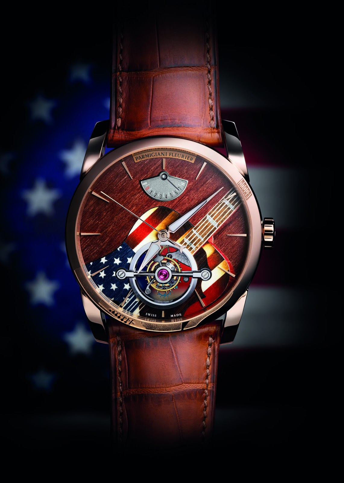 ec799d5ddac Parmigiani Tonda Woodstock In order to project a colorful and musical  dynamism, the Swiss watch brand turned for the first time to the refined  and delicate ...