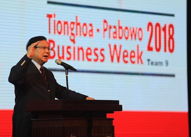 Temui Warga Tionghoa, Prabowo Tegaskan Bukan Antek Tiongkok