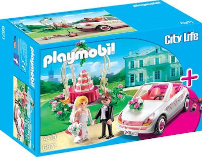 TOYS : JUGUETES - PLAYMOBIL City Life  6871 Boda  Producto Oficial 2016 | Piezas: 103 | Edad: 4-10 años  Comprar en Amazon España