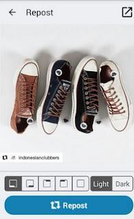 repost foto instagram