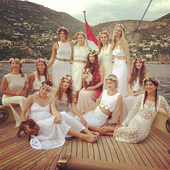 Wedding Celebrations of Andrea Casiraghi and Tatiana Santo Domingo
