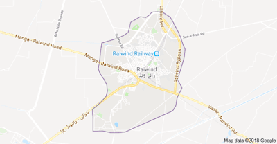 Explosion near police check post in Raiwind