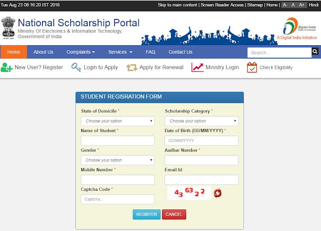 National Scholarship Scheme
