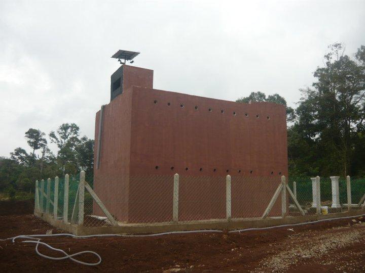 Desain rumah walet sederhana rumah walet terkecil di dunia