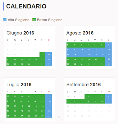 Calendario 2016 AcquaPark Odissea 2000