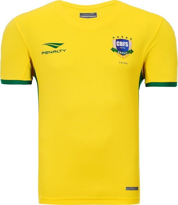 bd475e7afae3e Penalty volta a patrocinar a Seleção Brasileira de futsal - Show de Camisas