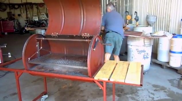 Como construir un medio tanque construccion y for Como fabricar tanques de agua para rusticos