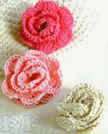 Patrones Crochet Manualidades Y Reciclado Flores En Crochet Varios
