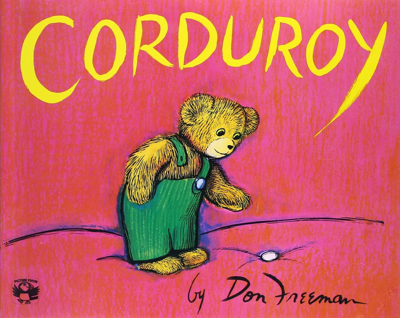 Corduroy on Books about bears- children's book review list.