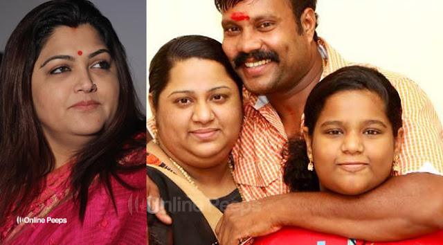 Actress Kushboo has come forward in praise of Kalabhavan Mani's Daughter