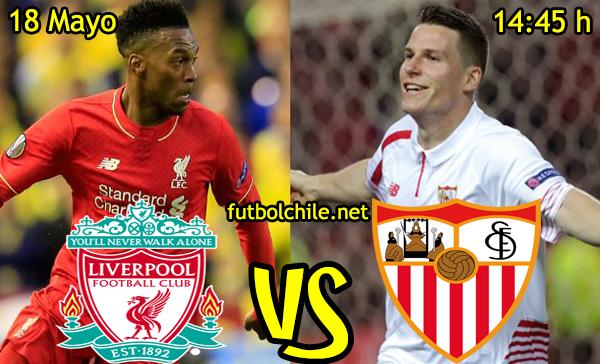 VER STREAM YOUTUBE RESULTADO EN VIVO, ONLINE: Liverpool vs Sevilla