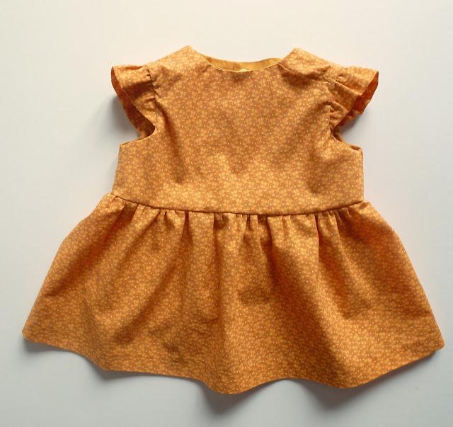 Grace-jurkje oranje