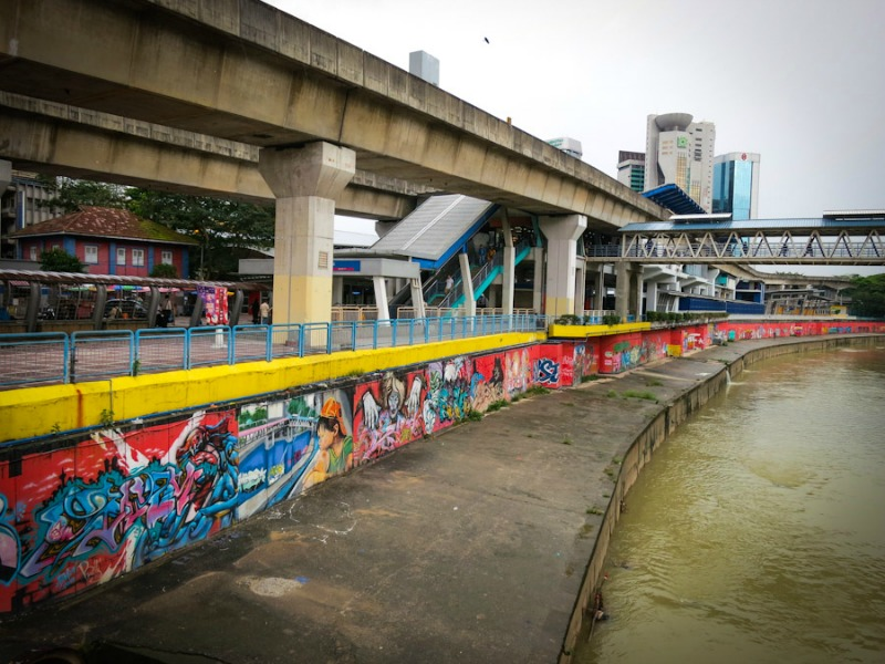 Street Craft along the Klang River Banks