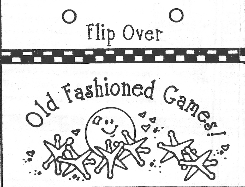 Homemakers Journal Flip Over Old Fashioned Games