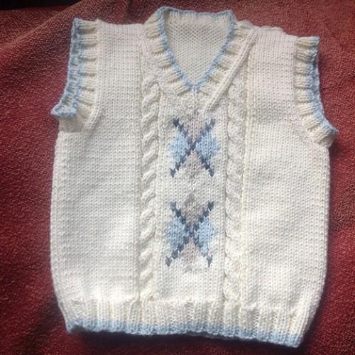 Argyle Vest - Free Pattern