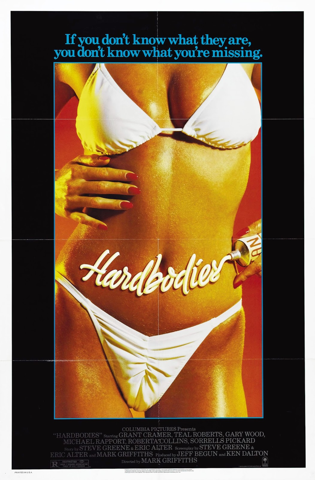 Hardbodies 1984 movie poster