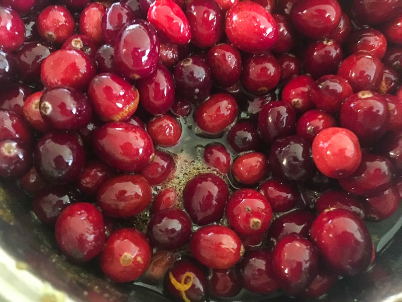 Cranberry Sauce, recipe, food blogger, Foodie for Thought blog