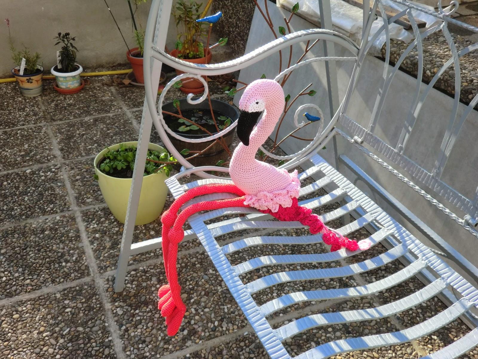 Bk Handarbeit Flamingo