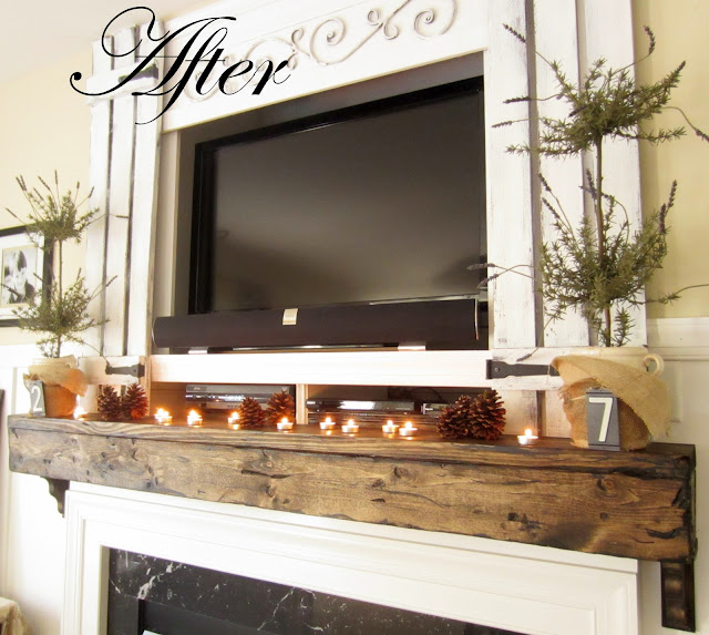 down to earth style upgrade your builder mantel easy