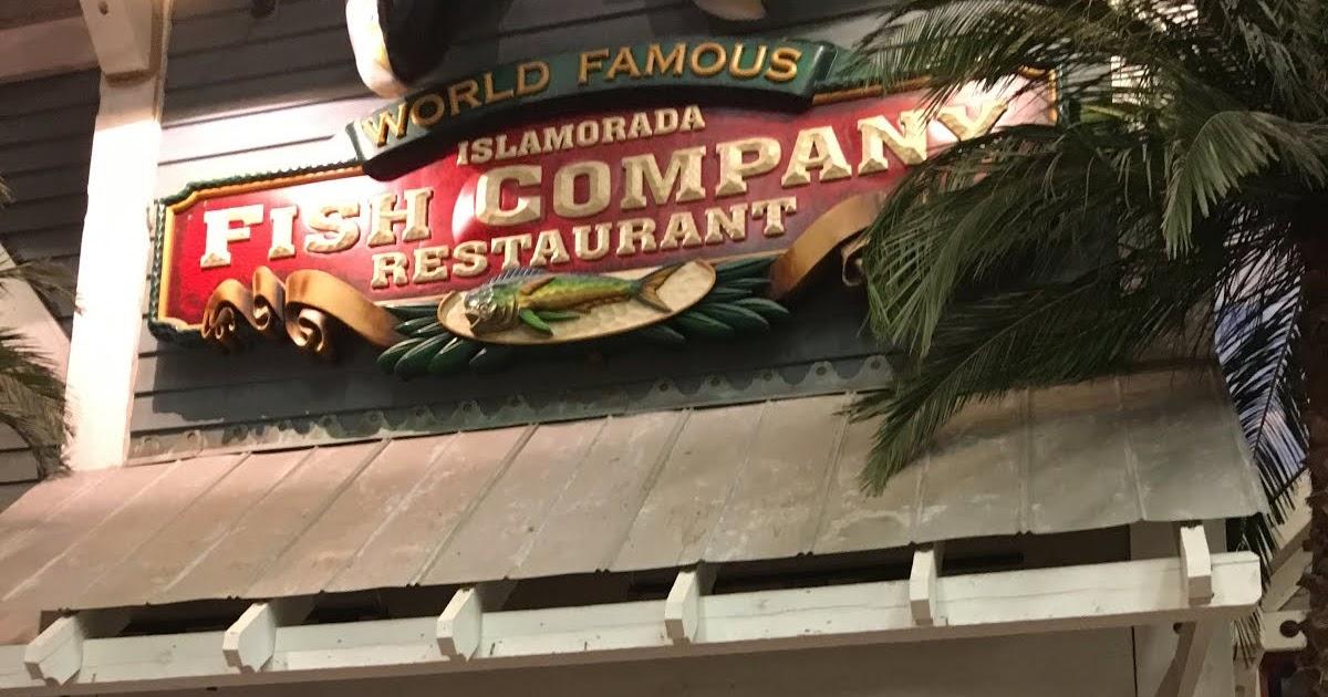 Chicago foodie sisters islamorada fish company for Islamorada fish company menu