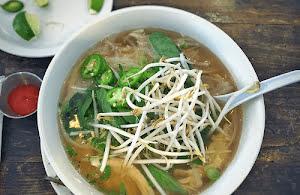 Vietnamese (Pho Ga) Chicken Noodle Soup