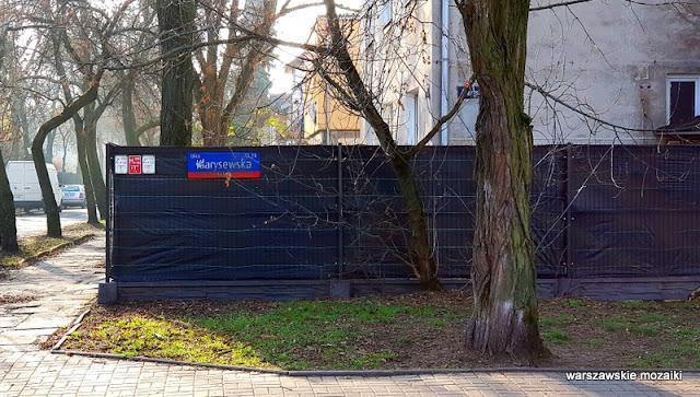Warszawa Warsaw Mokotów Sadyba ulice Mokotowa architektura