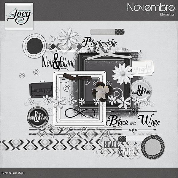 Freebie de Joey Joey_novembre_preview_el