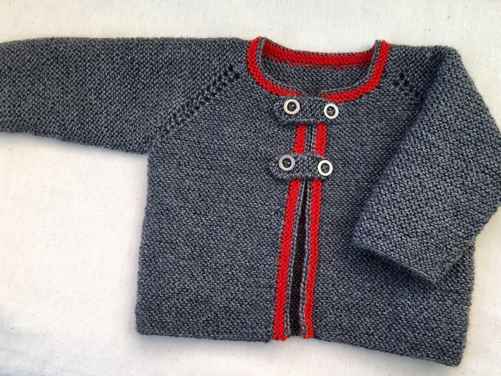 Chaqueta austriaca beb punto dos agujas - Tejer chaqueta bebe 6 meses ...