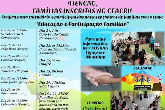 Atenção famílias inscritas na ONG Ceacri