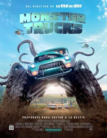 Monster Trucks 2016 Hindi Dual Audio BluRay Full Movie Download