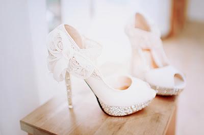 Zapatos blancos para fiesta
