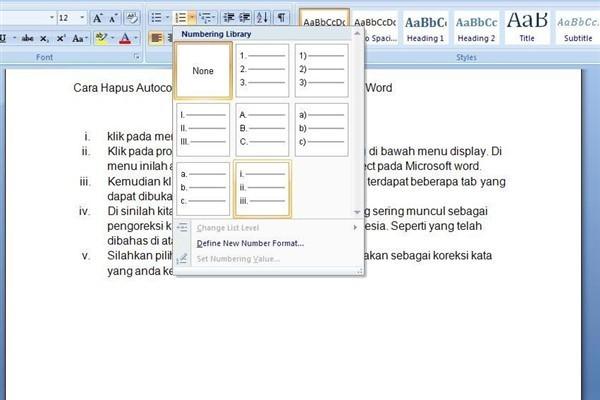 Tulisan dalam sebuah dokumen biasanya memuat poin Cara Bikin Bullet Dan Numbering di Microsoft Word