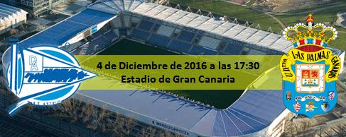 Previa D Alaves - UD Las Palmas 4 Diciembre 17:30