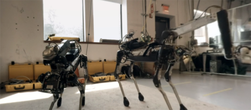 Get Up Close and Personal with Boston Dynamics' Robots - In VR