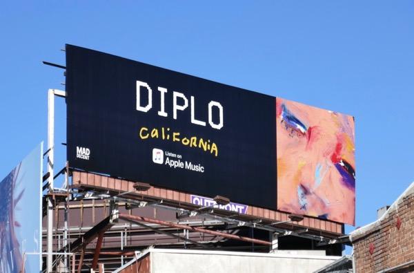 Diplo California billboard